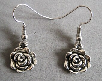 "Earrings ""Roses"""