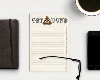 Get 'Emoji' Sh*t Done -- To-Do List Notepad