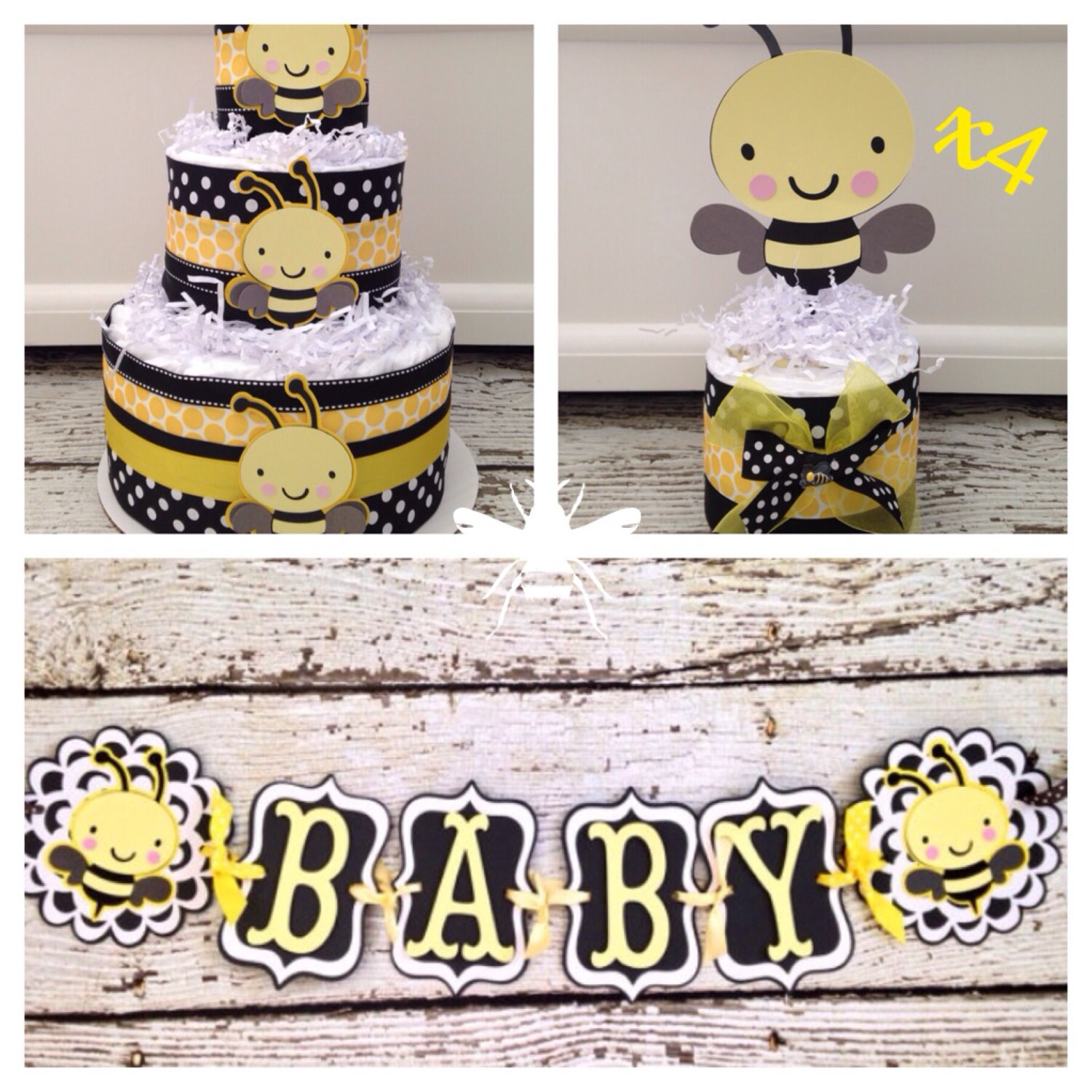 bee bumble to shower party a decor zebra decorations celebrations baby supplies mommy