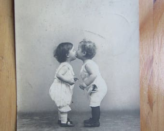 First KISS postcard from Russia with Love :)  1900ies