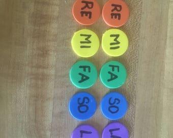 Set of 3 Solfege Stickies