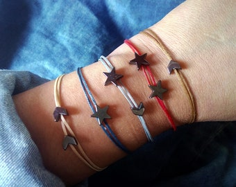 Hematite bracelet Energy Healing crystal jewelry Root chakra bracelet Grounding jewelry Balance bracelet Yoga gift Yoga jewelry