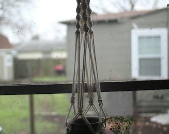 3' Macrame Hanging Planter