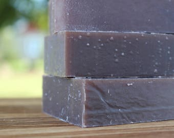 FULLY PATCHOULI Solid Shampoo Bar - Real Patchouli Shampoo Bar with Cocoa and Shea Butters