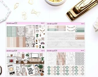 Home MINI Kit // Planner Stickers
