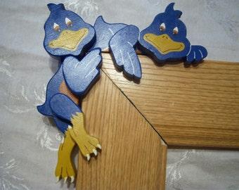 Blue Bird Corner Hanger