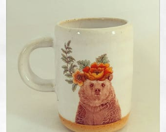 Talk to the Animals- Bear Espresso Cup