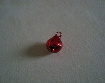 A 8 mm Red Bell charm