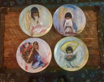 DeGrazia *BEAUTIFULBURDEN 1981  *A Little Player-The Christmas Angel 1981 *The Flower Boy 1979 *Blue Boy 1982