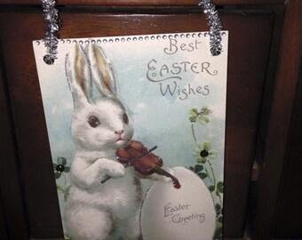 Embellished Vintage Easter Postcards