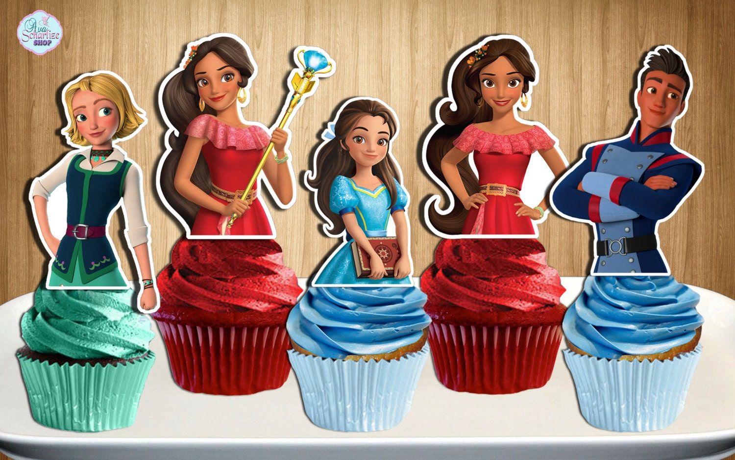 Big W Party Shop Cake Toppers