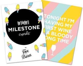 Mum Milestone Cards - 10 cards