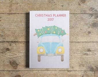 Christmas Planner 2017 | A5 | Printable | Downloadable