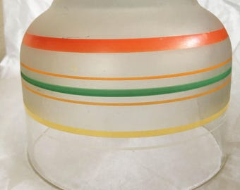 Vintage Frosted Kitchen Bowl