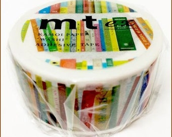 New!! mt ex washi paper masking tape hondana books made in Japan