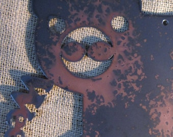 Weeeee-Metal Art Pig