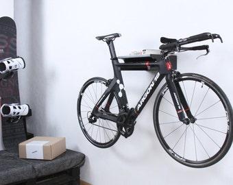 Berlin - Bike shelf / bicycle hanger / bike stand / Black