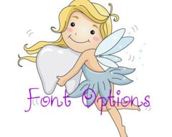 Font Options - Listing 1 of 3