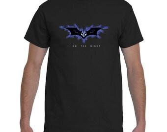 Men's Batman My Little Pony Luna Nightmare Moon Crossover Geek Brony T-Shirt