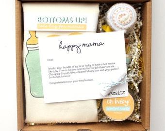 New Mom Gift Basket. New Baby Gift Basket. Mom To Be Gift. New Parents Gift Basket. New Mom Care Package. Gender Neutral Baby Gift Basket.