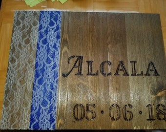 WOODEN signs and plaques for every occasion worth remembering! weddings, gifts, commorative. Completely customizable.
