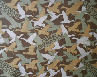 Duck dynasty camouflauge cotton fabric