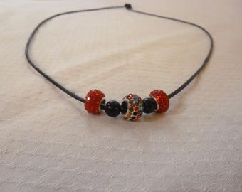 Necklace with Colorful stone