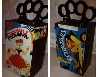 Retro Inspired Cigar Box Purse