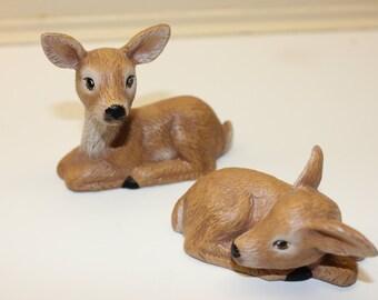Vintage Handmade Deer pair Item M204