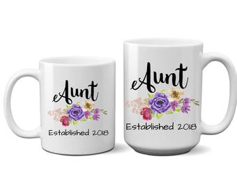Pregnancy, Reveal, Announcement, Aunt, Coffee Mug, For, Her, Gift, Woman, Sister, Best Friend, Established, Ideas, Cute, Friend, Sayings