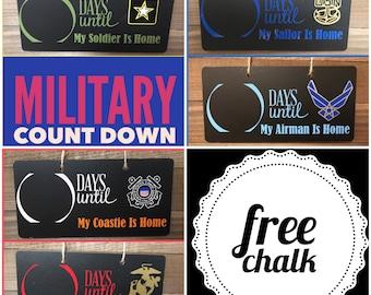 Deployment Countdown, Military Deployment, Military, Deployment Strong, Count down, Chalkboard