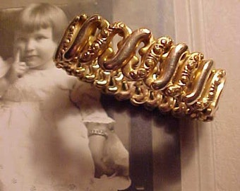 Vintage 1900s Bracelet Expand Style Child/Lady Lovely Link Detailing