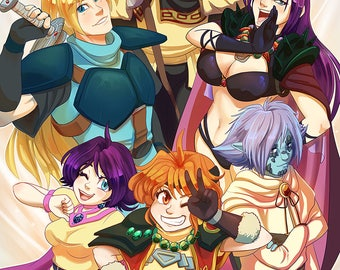 Slayers Tribute Print *PREORDER*