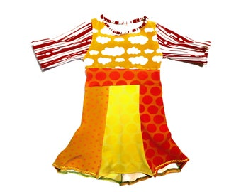 Girl Dress from Patchwork
