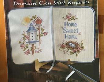 Decorative Cross Stitch Keepsake, 'The Best  Place on Earth', by: JCA, Inc