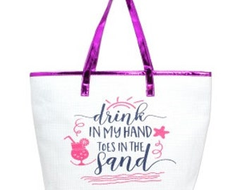 Toes in the Sand Beach Bag