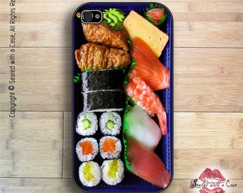 Sushi Dinner - iPhone 4/4S 5/5S/5C/6/6+ and now iPhone 7 cases!! And Samsung Galaxy S3/S4/S5/S6/S7