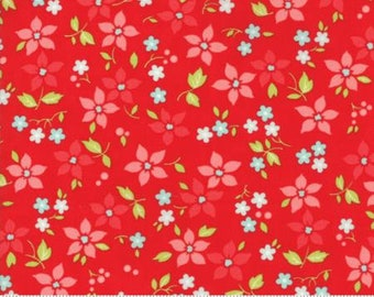 United Notions - Moda-Bonnie and Camille- Vintage Holiday-55167 11- CT122142-100% Quality Cotton by the Yard or Yardage