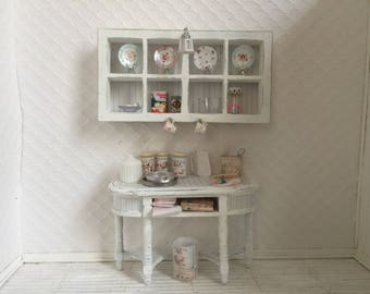 Shabby Chic kitchen cabinet set - Free Shipping to the US