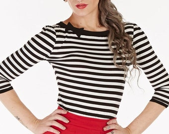 Beatnik Stripe Top