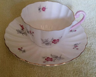 Shelley Tea Cup and Saucer Set #2505 standard  size