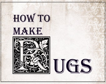 How to make rugs 1908 by Candace Wheeler pdf download ebook