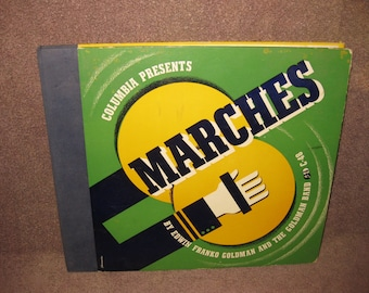 Goldman Band Marches - 78 RPM Record Set