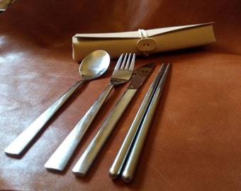 Zero waste take anywhere lunch cutlery set