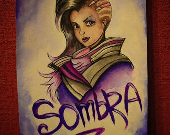Painting Sombra Art Watercolor