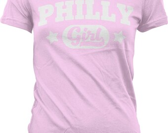 Philly Girl Juniors T-shirt, NOFO_00973