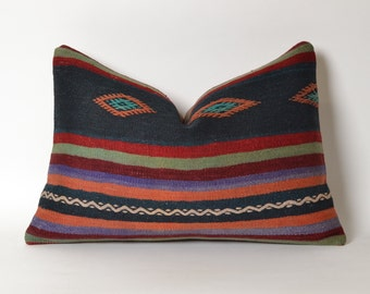 turkish pillows, outdoor pillow, home decor pillows, pillow case, southwestern pillow, cushion, moroccan decor, kilim cushions, aztec pillow