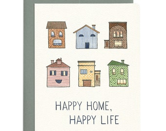 Happy Home Greeting Card