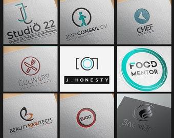 Custom Logo, Logo Design, Business logo, brand identity design