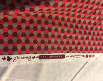 Joel Dewberry Ginseng Pink/Maroon/Taupe